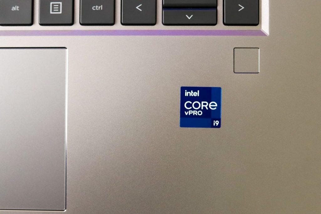HP ZBook Studio G8 keyboardview