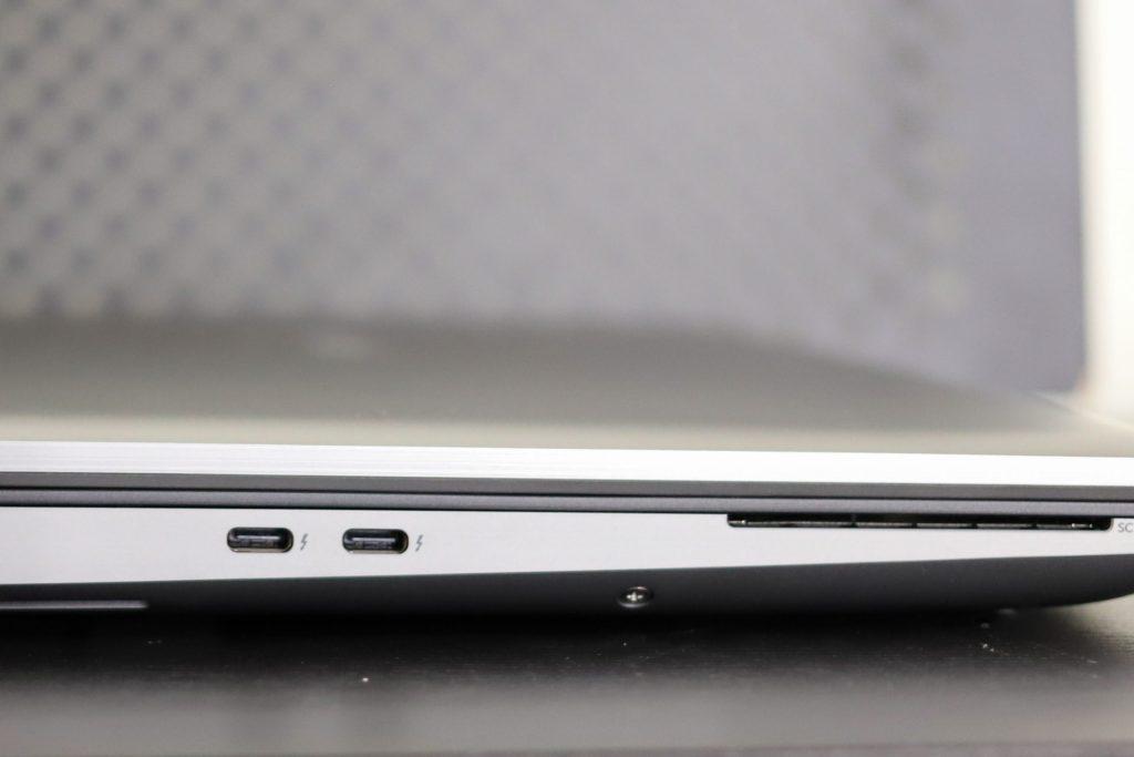 Dell Precision 7560 Left Edge