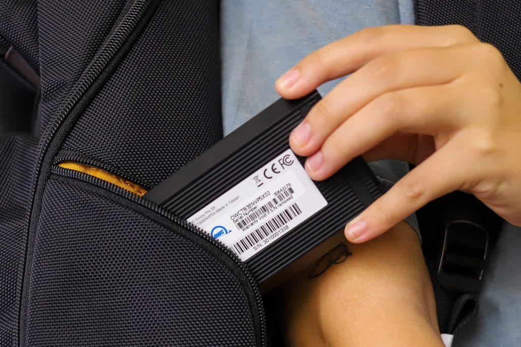 OWC Envoy Pro SX backpack alt