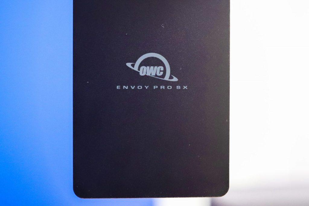 OWC Envoy Pro SX top panel