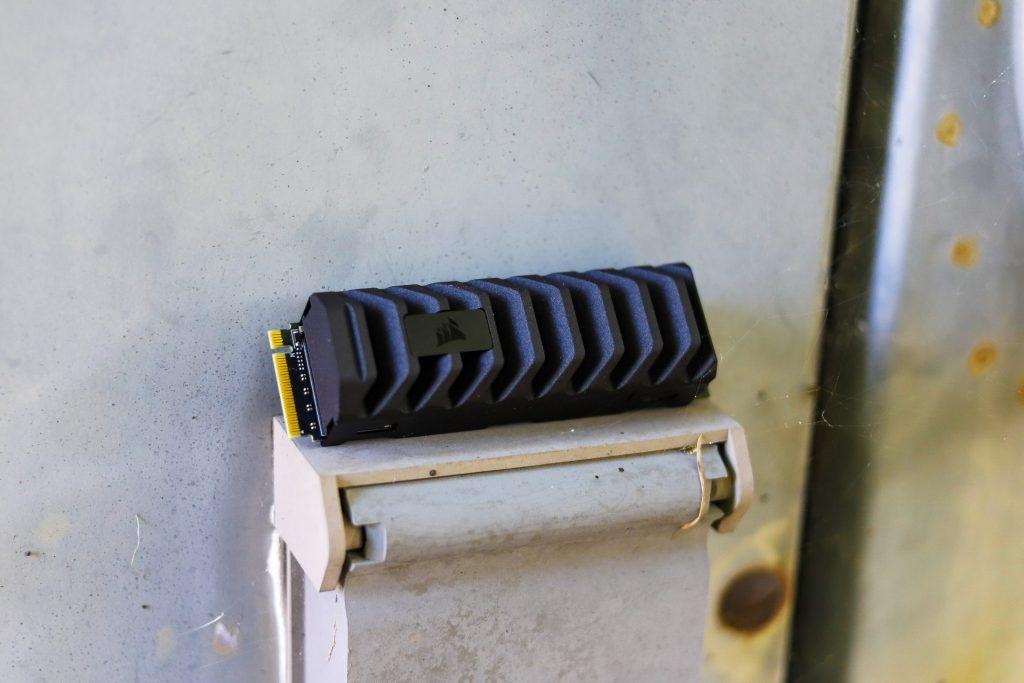 corsair mp600 pro xt rustic outside