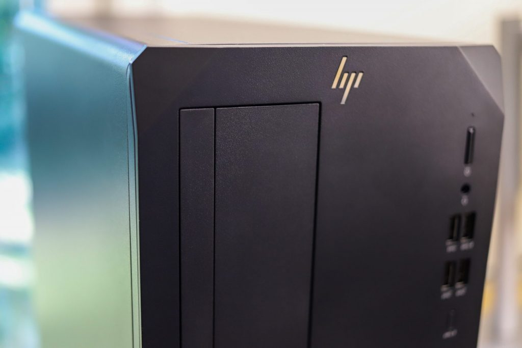 HP Z2 G8 Tower Front Logo