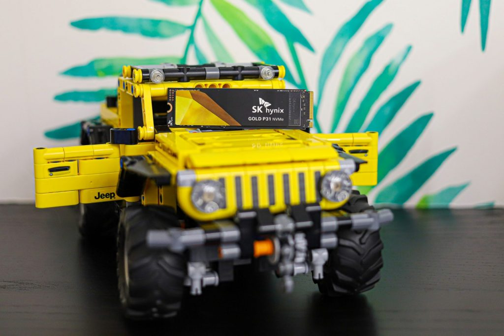 Gold P31 2TB jeep